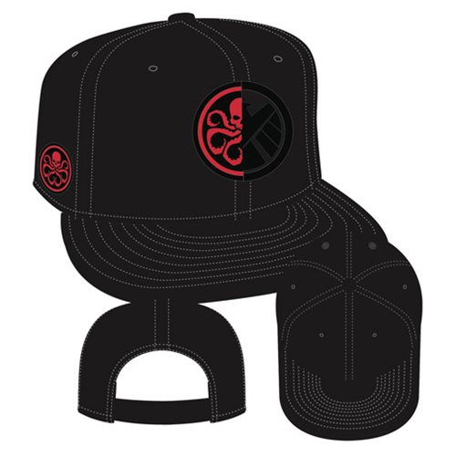 3f1271d05f00e Agents of SHIELD and Hydra Side Snap Back Hat - Previews Exclusive