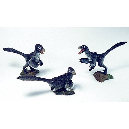 Beasts of Mesozoic Raptor Series White Nestlings 1:6 Action Figure Set