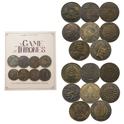 Game of Thrones House Half-Dragons 8-Pack Set
