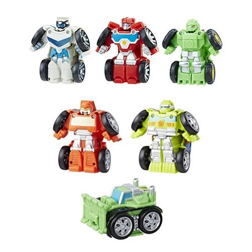 Transformers Rescue Bots Flipracer Multipacks Wave 2 Case