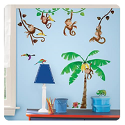 Morrow Monkeys Peel and Stick Wall Decals