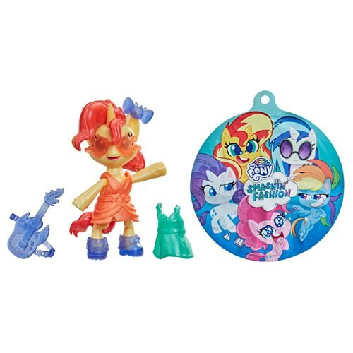 My Little Pony Smashin Fashion Sunset Shimmer Mini-Figure