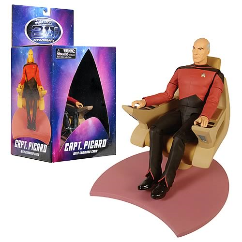 Star Trek Captain Picard in Chair Action Figure