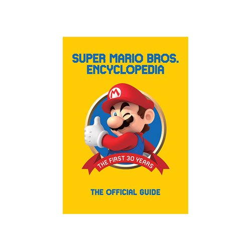 Super Mario Encyclopedia 1985-2015 The Official Guide Hardcover Book