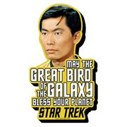 Star Trek Sulu Quote Funky Chunky Magnet