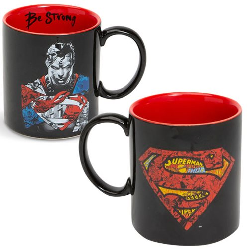 Superman DC Comics Be Strong Mug