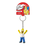 The Simpsons Homer 3-D Mini-Figure Key Chain