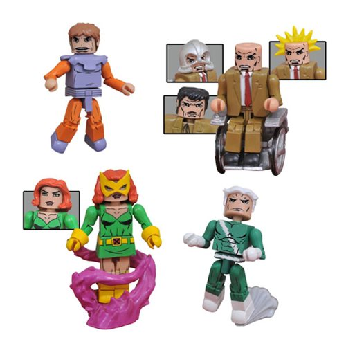 Marvel X-Men vs. Brotherhood Minimates 4-Pack Box Set
