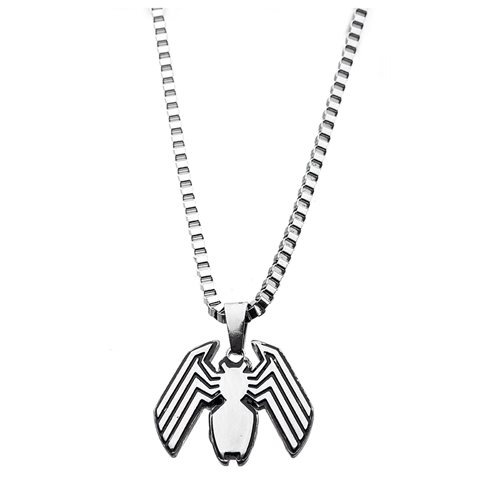 Venom Logo Pendant Necklace