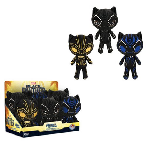 Black Panther Plushies Display Case