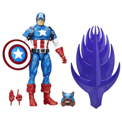 Captain America Civil War Marvel Legends Comic Captain America Action Figure