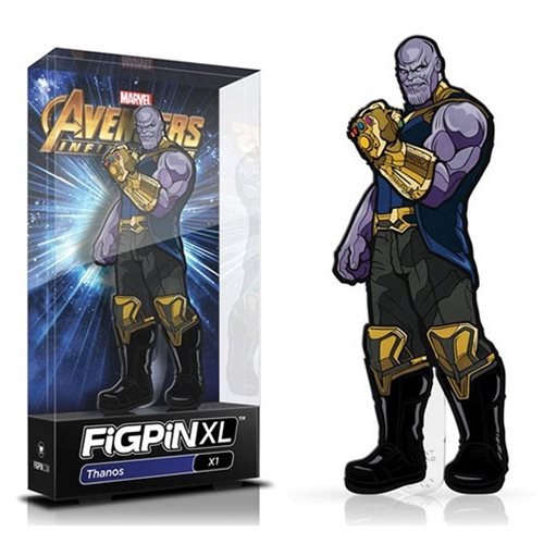 Marvel Avengers: Infinity War Thanos FiGPiN XL Enamel Pin