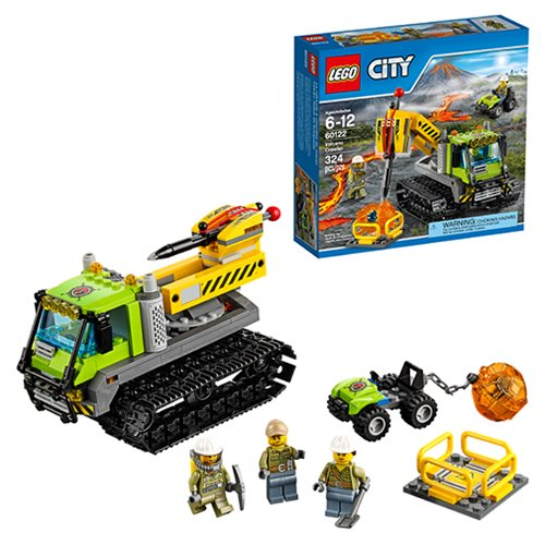 LEGO City In Out 60122 Volcano Crawler