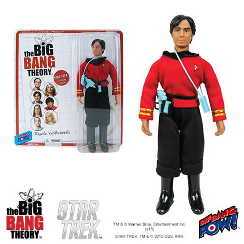The Big Bang Theory / Star Trek: The Original Series Raj 8-Inch Action Figure