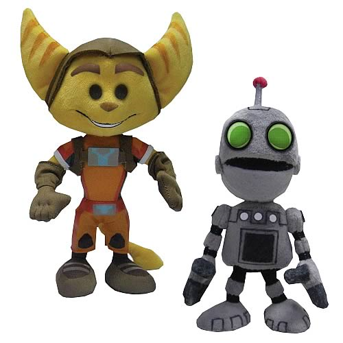 Mezco Ratchet And Clank All 4 One 8 Inch Plush Ratchet By Mezco