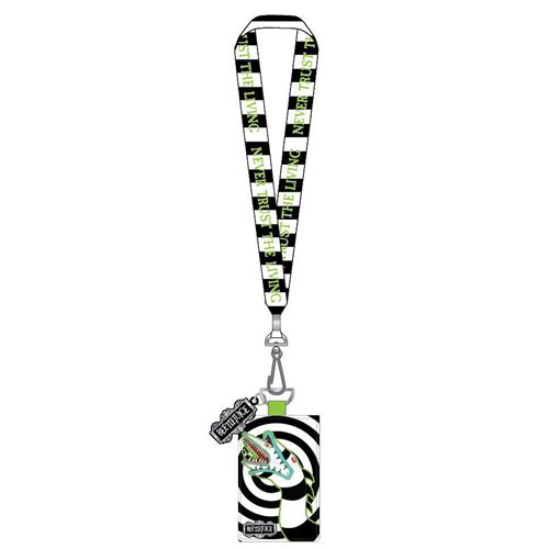 Beetlejuice Sandworm Lanyard with Cardholder