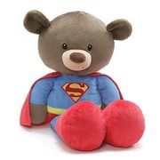 Superman Fuzzy Bear Jumbo 25-Inch Plush