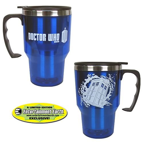 EE Exclusive Doctor Who TARDIS 14 oz. Travel Mug