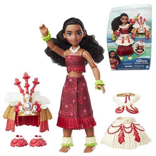 Moana Ceremonial Dress Fashion Doll