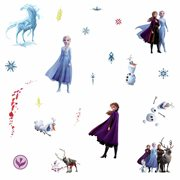 Frozen II Peel and Stick Wall Decals
