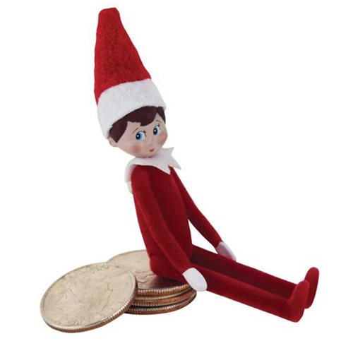 World's Smallest Elf on a Shelf