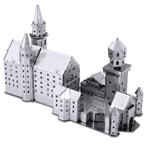 Neuschwanstein Castle Metal Earth Model Kit