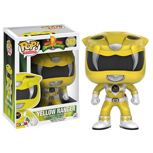 Mighty Morphin' Power Rangers Yellow Ranger Pop! Vinyl Figure