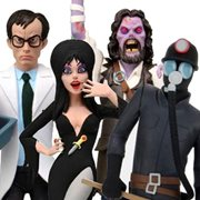 Toony Terrors Series 6 Action Figure Set of 4