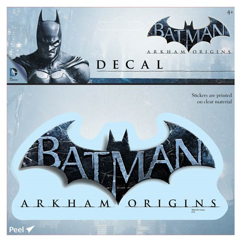 Batman: Arkham Origins Logo Decal