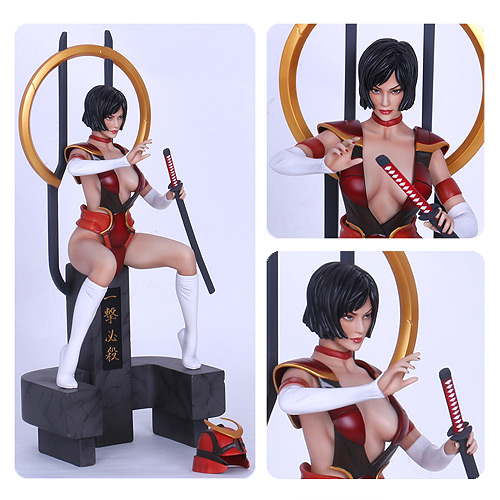 Fantasy Figure Gallery Lady Samurai Wei Ho 1:6 Scale Resin Statue