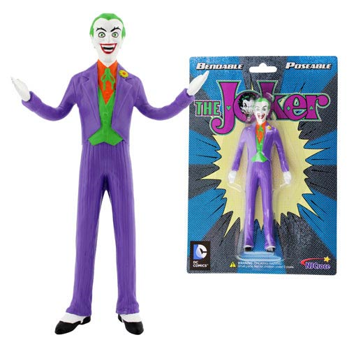 NJ Croce The Joker 5-Inch Bendable Figure