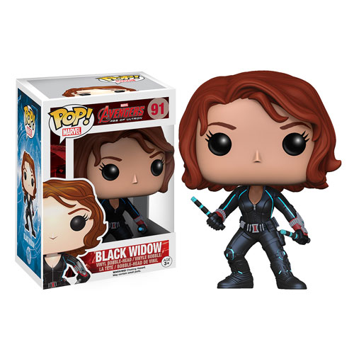 Avengers Age of Ultron Black Widow Pop! Vinyl Bobble Head Figure