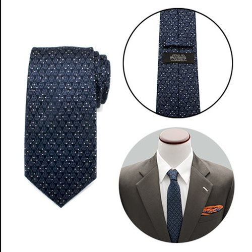 Star Wars Darth Vader Navy Diamond Dot Mens Tie