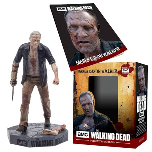 The Walking Dead Walker Merle Figure with Collector Magazine #21