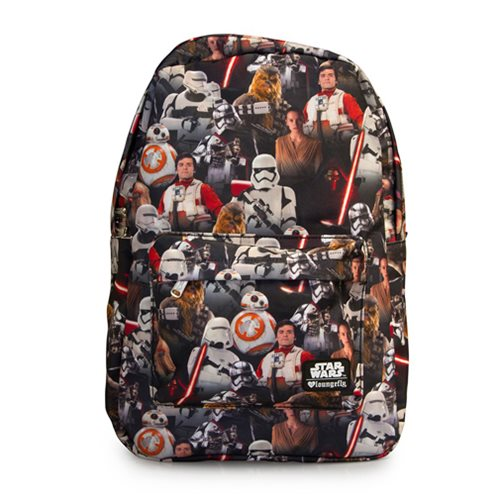 Star Wars: The Force Awakens Multi Character Backpack