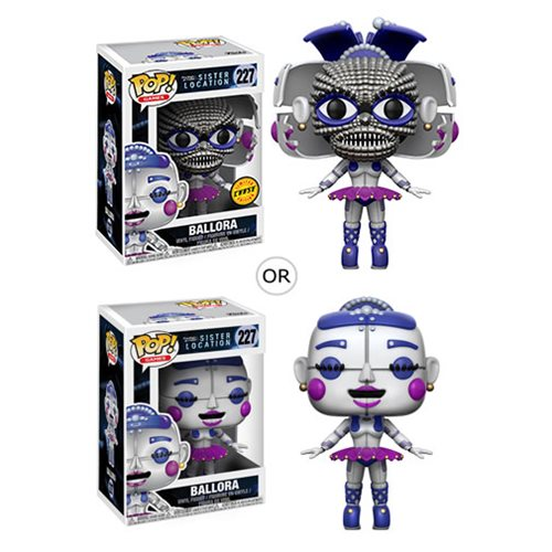 Five Nights at Freddy's Sister Location Ballora Pop! Vinyl Figure #227, Not Mint