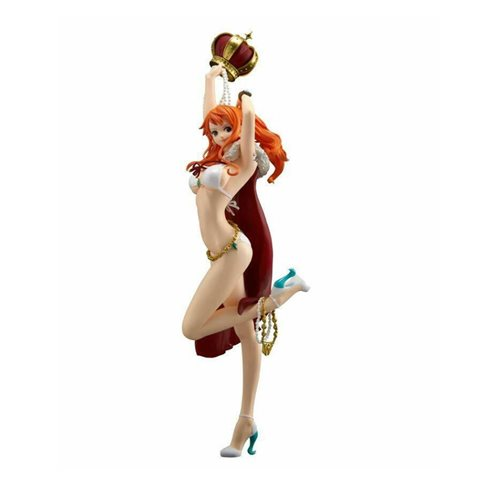 One Piece Stampede Movie Nami Flag Ship Diamond Statue