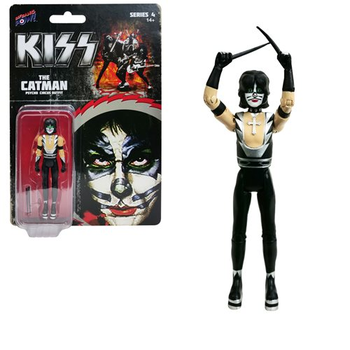 KISS Psycho Circus The Catman 3 3/4-Inch Action Figure Series 4