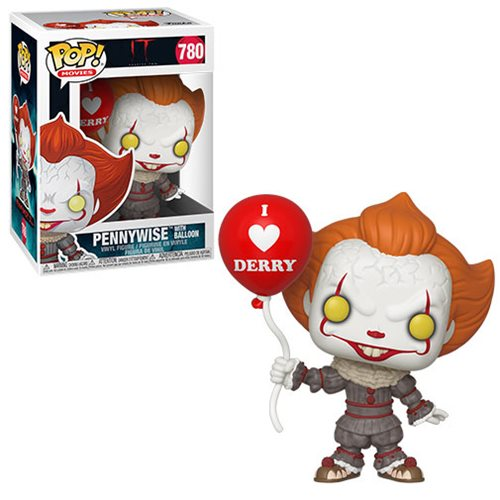 It Chapter Two Pennywise with Balloon Pop! Vinyl Figure