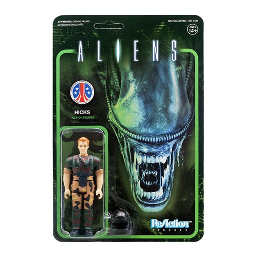 Aliens Hicks 3 3/4-Inch ReAction Figure