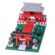 Inari Shrine Nanoblock Constructible Figure