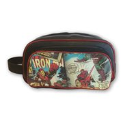 Marvel Comics Retro Collection Faux Leather Toiletry Bathroom Bag