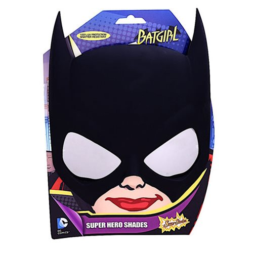 Batman Batgirl Sun-Staches