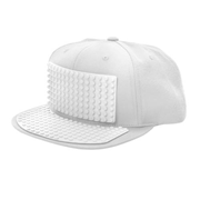 Bricky Blocks White Baseball Hat