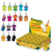 Crayola Munny Zipper Pull Key Chain Display Box