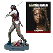 The Walking Dead Michonne Figure with Collector Magazine #3