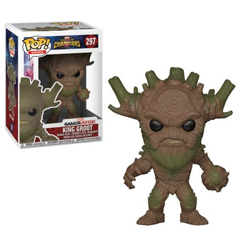 Marvel: Contest of Champions King Groot Pop! Vinyl Figure