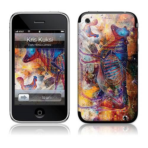 GelaSkins Kuksi Pca Colorful Cow iPhone Skin