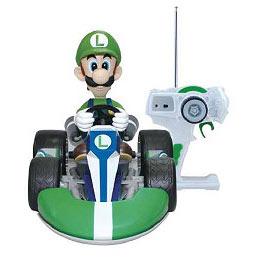 Super Mario Kart Wii Luigi Remote Control Vehicle