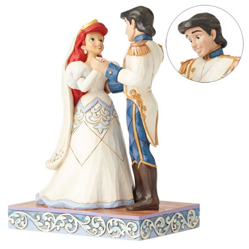 Disney Traditions The Little Mermaid Ariel and Eric Wedding Statue
